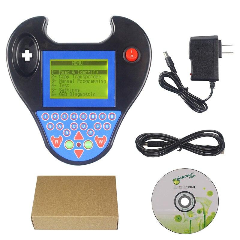Mini tipo smart zed bull zedbull programador chave preto e vermelho cor sem tokens limitação programador chave do carro sem cartão de login necessário