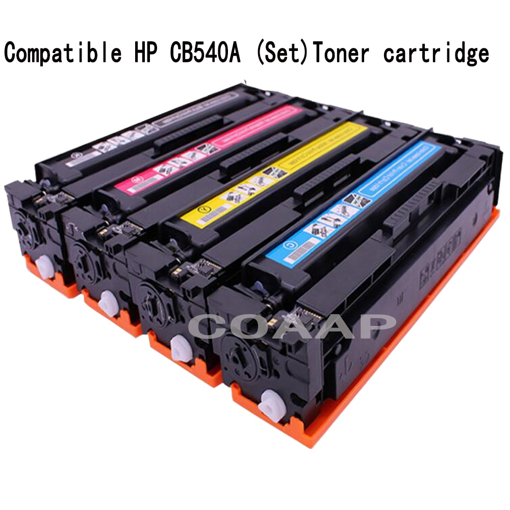 Совместимый тонер-картридж CB540A CB541A CB542A CB543A 125A для принтера HP laserjet 1215 CP1215 CP1515n CP1518ni CM1312