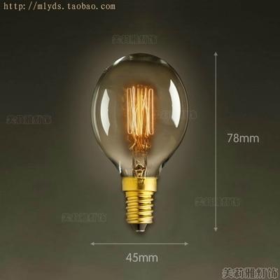 2pcs 40W 220V Lampadas Edison Bulb Bombilla Edison Lamp E14 Vintage Bulb Light Retro Lamp Ampoules Decoratives Lampara
