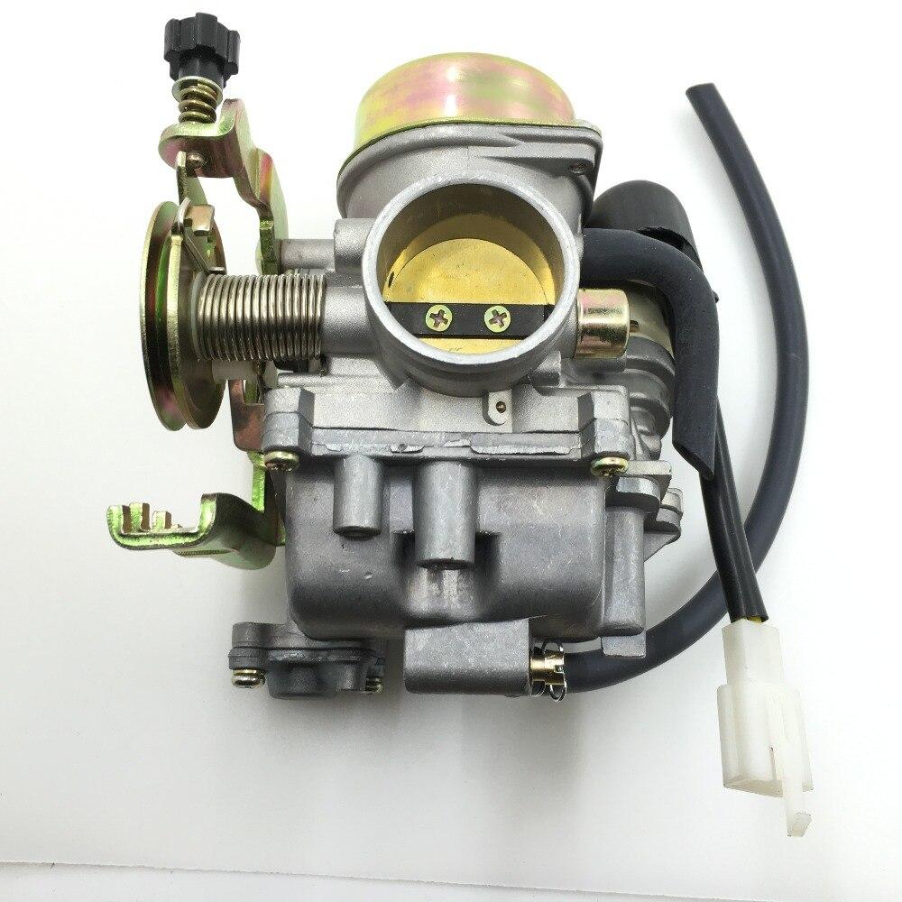 SherryBerg carburador reemplazar producto OEM CVK30 150cc + GY6 ajuste YAMAHA GY6 HONDA CG RS correr DIO SUZUKI