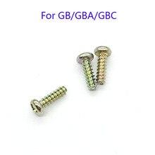 300 sztuk do Gameboy Advance kolor klasyczny ZESTAW DO NAPRAWIANIA Tri-śruby z łbem płaskim dla GB GBA GBC konsoli śruba