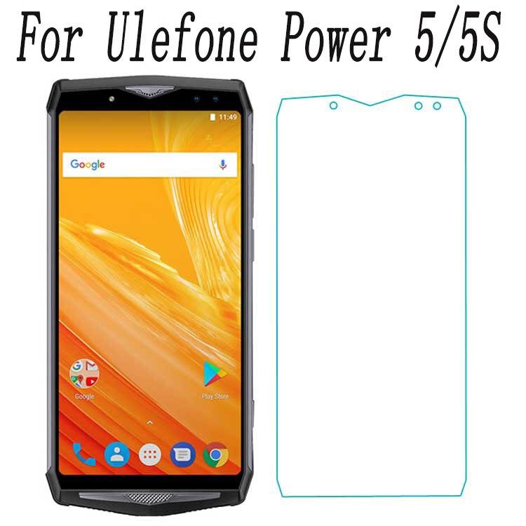 "Vidrio templado para teléfono inteligente para Ulefone Power 5 5S power5 6,0 ""película protectora a prueba de explosión funda protectora de pantalla teléfono"