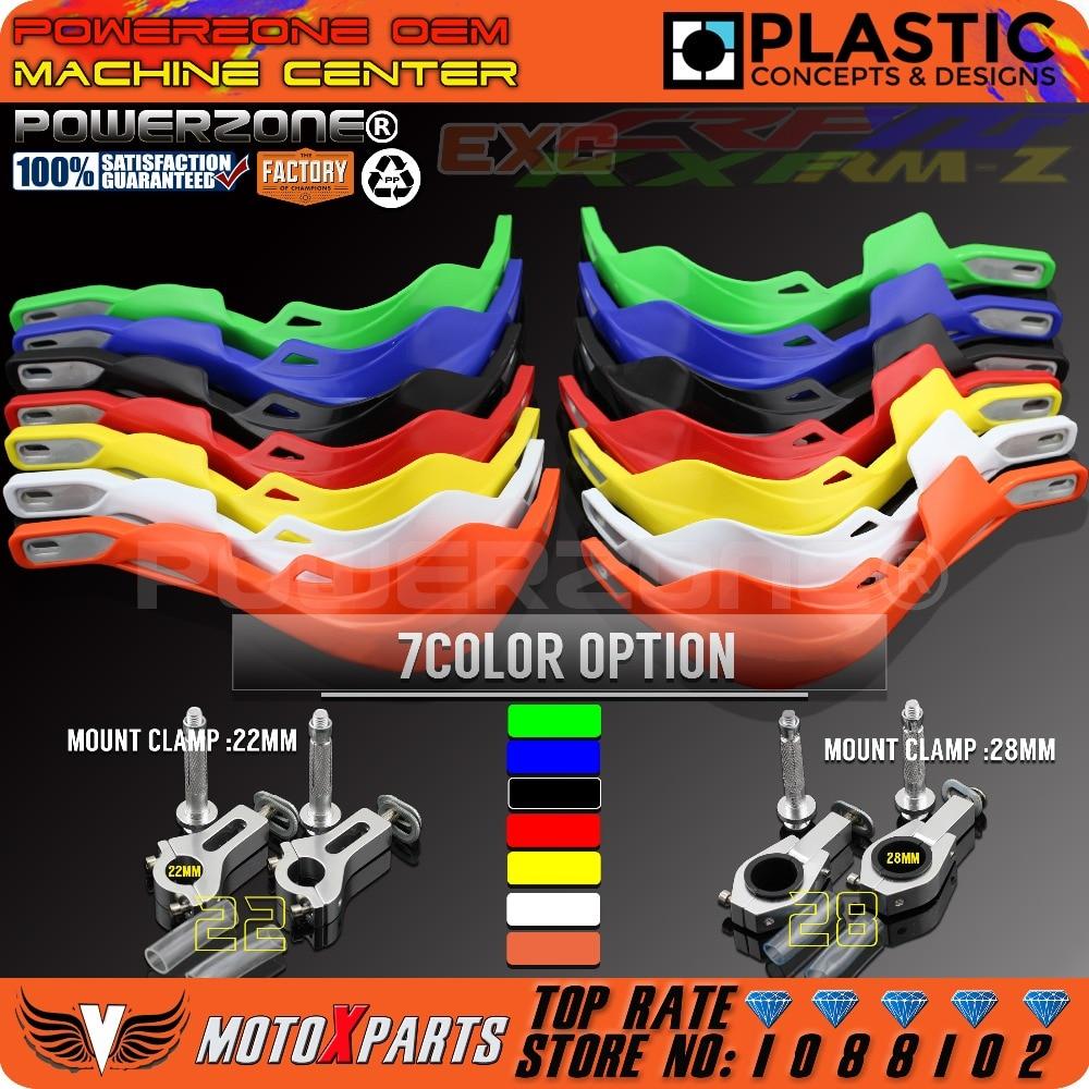 PowerZone rallypro guardabarros de mano para motocicleta Protector de manos para irbi TTR CRF YZF WRF KXF KTM Enduro Motocross