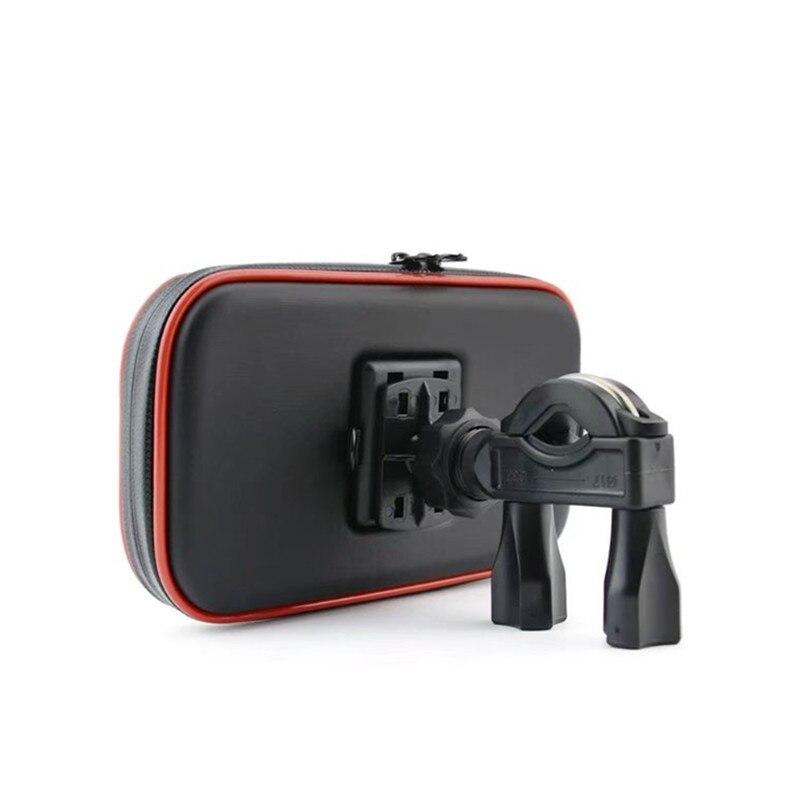 Suporte do telefone da motocicleta suporte móvel moto bicicleta suporte à prova dwaterproof água saco para iphone huawei xiaomi oppo vivo/samsung telefones inteligentes