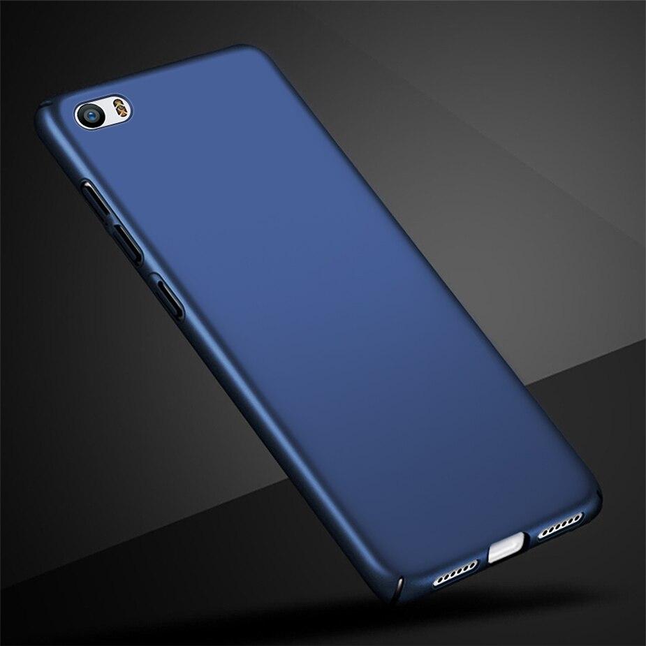 Простой чехол для Xiaomi Mi5 Mi 5, Роскошный Матовый чехол-накладка на заднюю панель для Xiaomi Mi 5 Mi5, ультра тонкий жесткий чехол для телефона из поли...