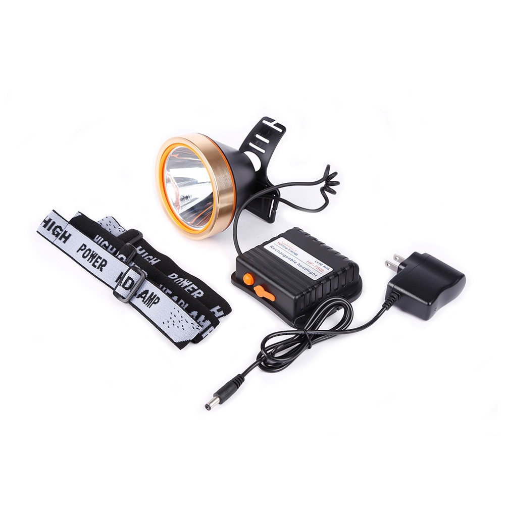 12pcs/lot Hunting friends LED Headlamp Rechargeable Headlight Waterproof Head Flashlight Hunting Lights Fishing Lamp for Outdoor enlarge