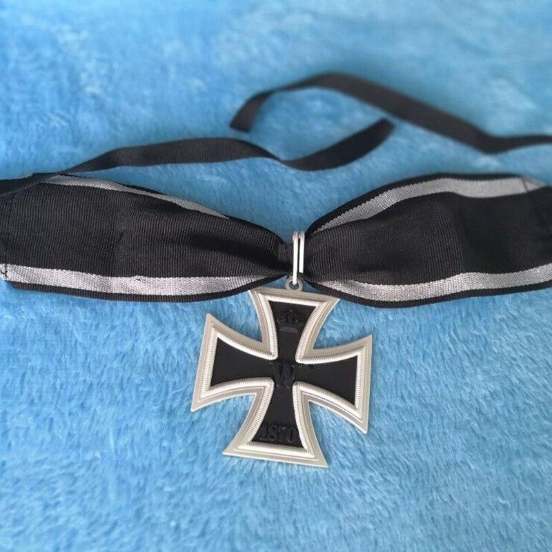 WW1 WWI German EK1 Oron Cross 1870 Badge Medal Prussian with Ribbon 62 mm
