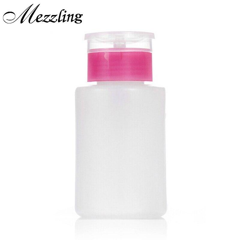 Гель-лак для ногтей, жидкость для удаления УФ-геля, пустая пластиковая бутылка для макияжа, портативный Диспенсер, контейнер для насоса, инс...