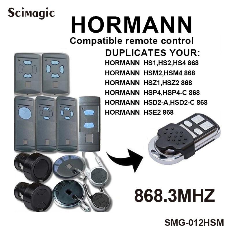 Hormann Marantec 868MHz, duplicador de control remoto para puerta de garaje, HSM2 HSM4 868 Marantec Digital D302 382, mando a distancia para puerta de garaje