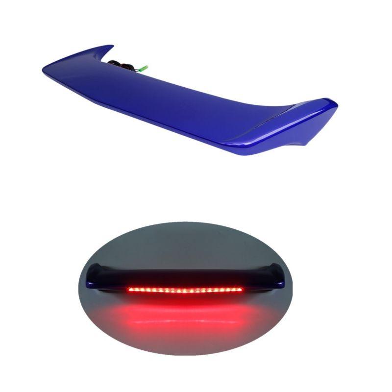 Lámpara de Luz de Freno LED del alerón del maletero de la motocicleta para Honda Goldwing GL1800 GL 1800 2001-2017 2016 15 rojo/azul