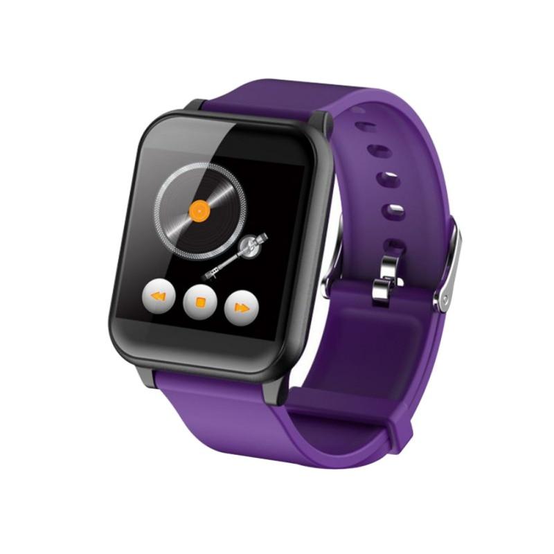 Z02 Smart Wristband Sports Step Color Screen Watch Heart Rate Monitor Multi-language Smart Bracelet