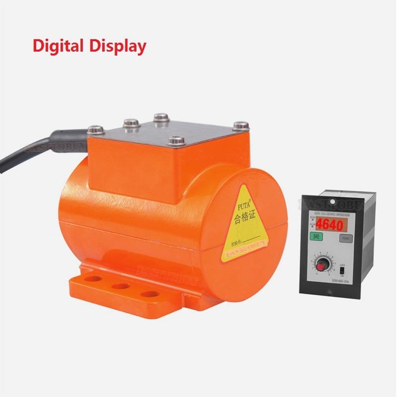 12 V DC Bürstenlosen Micro Vibration Motor 15 W 3800 rpm Digital Display Speed Controller Vibrator für Bau Lebensmittel Industrie