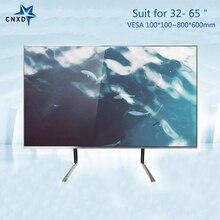 Support de moniteur de bureau TV universel support de Table TV support de bureau pour la plupart 32-65