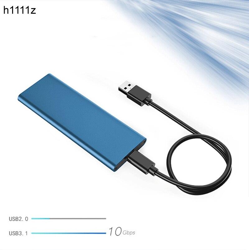 Carcasa NGFF Funda de disco duro M.2 NGFF SATA SSD 10Gbps a USB 3,1 tipo-c convertidor HDD caja adaptadora caja de cierre para M2 Disco Duro PC