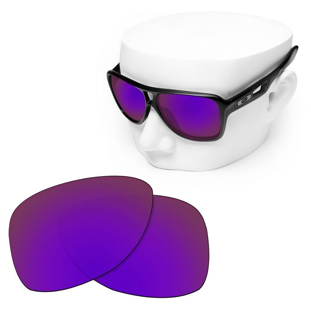 OOWLIT polarizadas lentes de púrpura espejo-Oakley envío 2 OO9150 gafas de sol