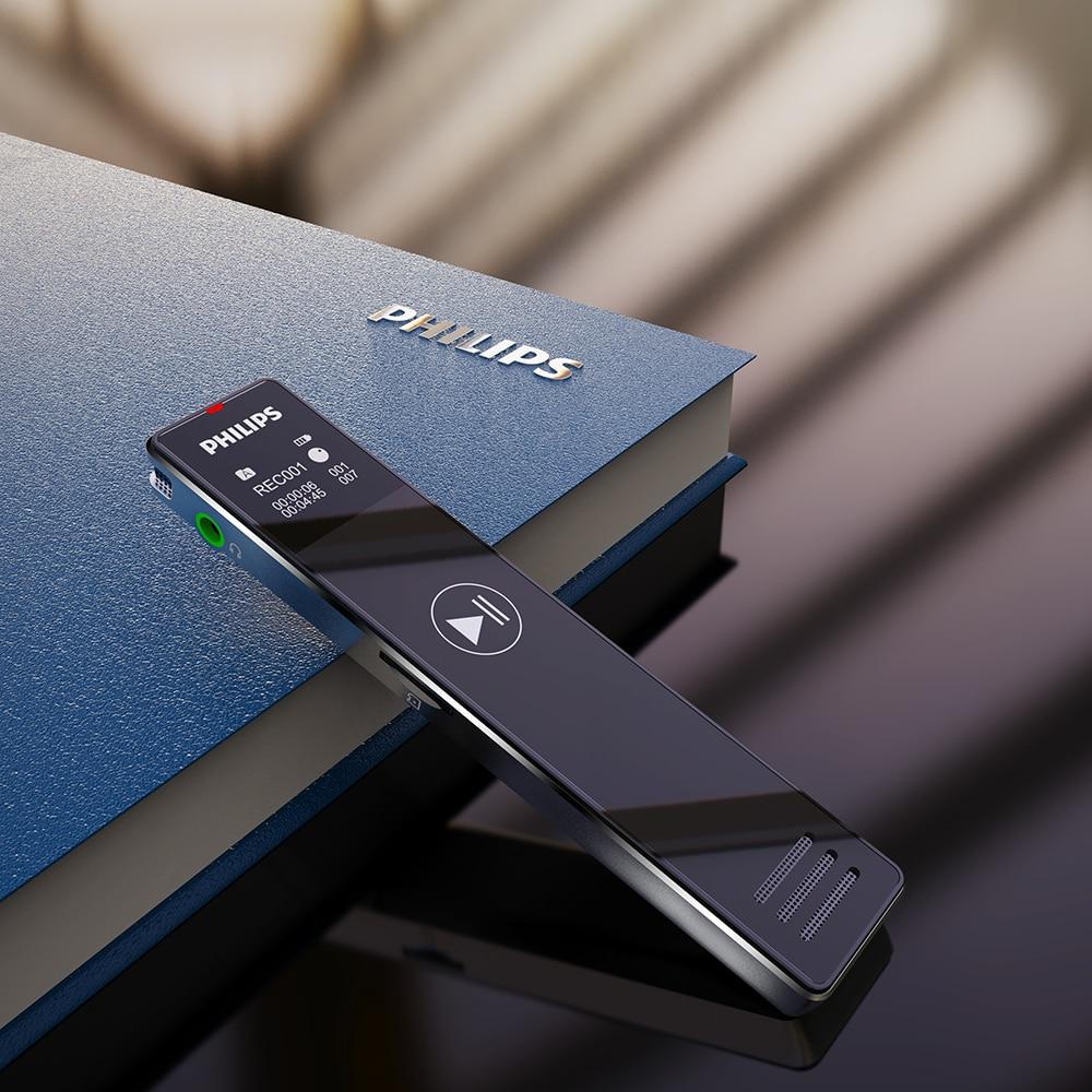 PHILIPS-قلم تسجيل صوت رقمي صغير ، أصلي 100% ، 128g ، PCM ، FM ، VTR5101