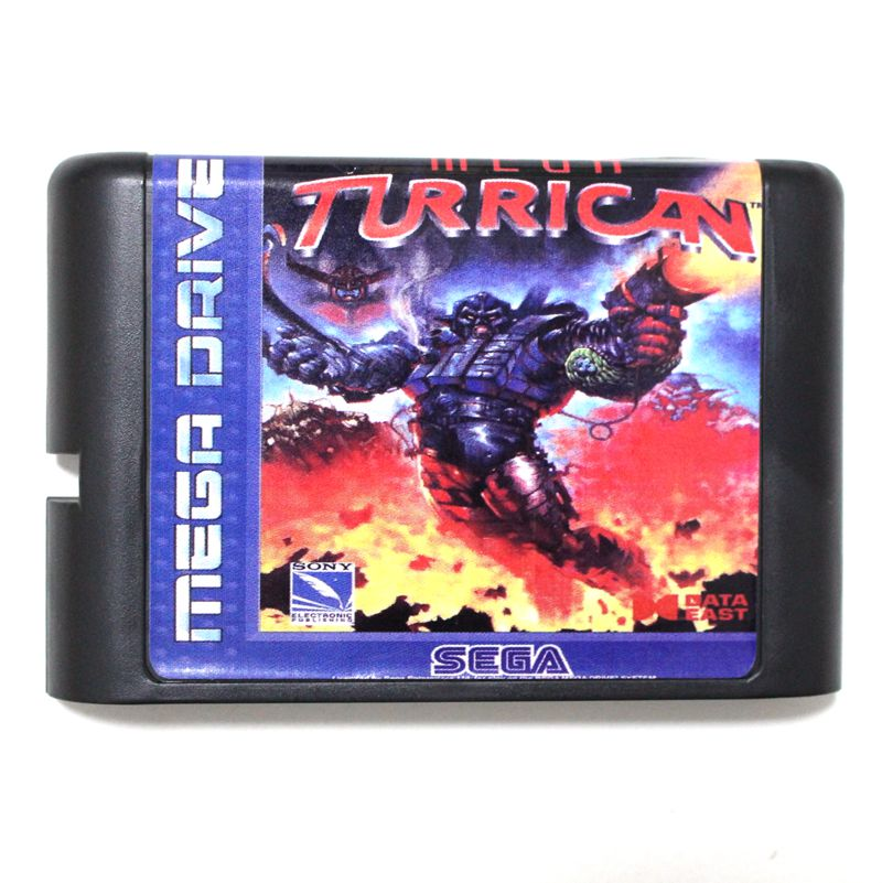 Sega tarjeta de juego MD-Mega Turrican para 16 bit Sega MD juego cartucho sistema Megadrive Genesis