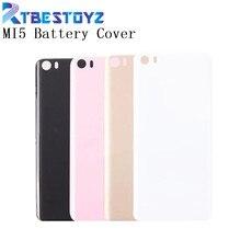 RTBESTOYZ For Xiaomi Mi 5 M5 Mi5 Battery Cover Original 3D Plastic Material Back Battery Door Housing Cover Case For Xiaomi 5