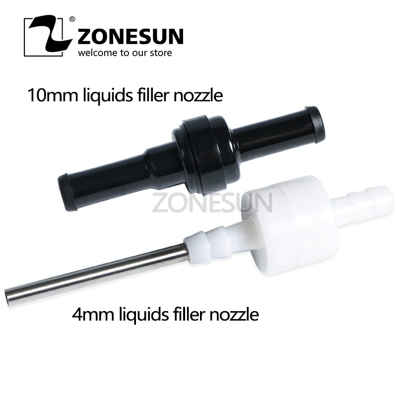 GFK-160 Small Size Filling Machine Nozzles for Digital Filling Machine Tiny Vials 5mm Liquid Filler Filling Machine Nozzle