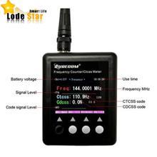 Novo surecom sf401 mais medidor de freqüência de rádio contador 27 mhz-3000 mhz medidor de freqüência portátil SF-401 ctccss/dcs decodificador