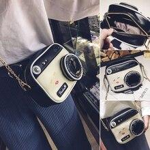 Femmes mode appareil photo forme petit sac à bandoulière sac à main sac à main messager