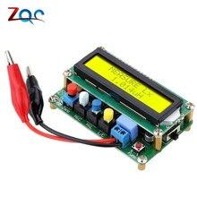 Testeur de table dinductance de compteur de capacité LCD numérique LC fréquence du compteur 1pF-100mF 1uH-100H LC100-A + pince de Test