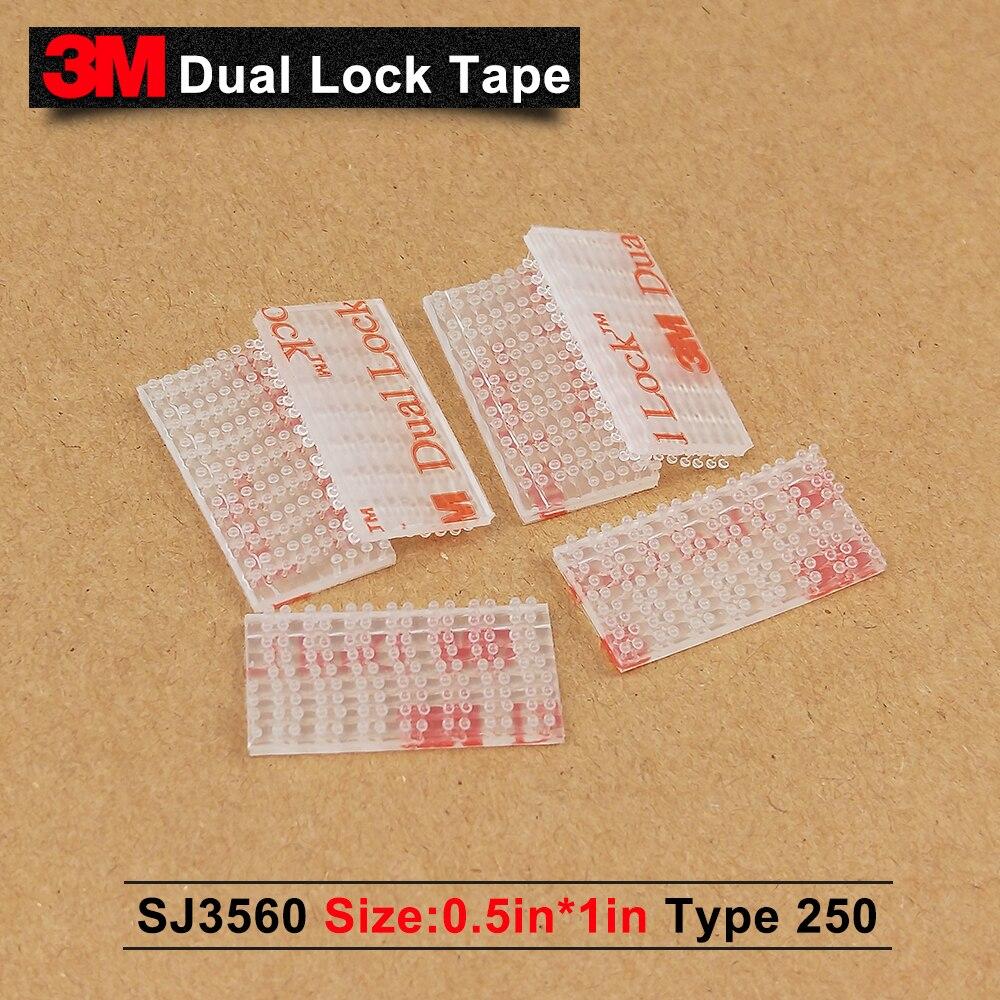 3M SJ3560 واضح الفطر رئيس الشريط/3M الذاتي لاصق 0 الشريط 1in * 0.5in * 3500 قطعة/5% حالا إذا 2 الكثير أو أكثر/يمكننا أن نقدم أي حجم