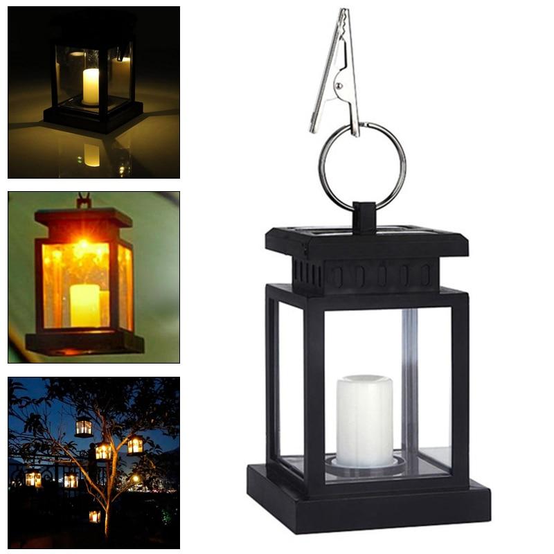 Solar Lantern Halloween LED Electronic Home Hanging Votive Candles Lamp Best Gift Solar Romantic Lantern Lights Drop Shipping