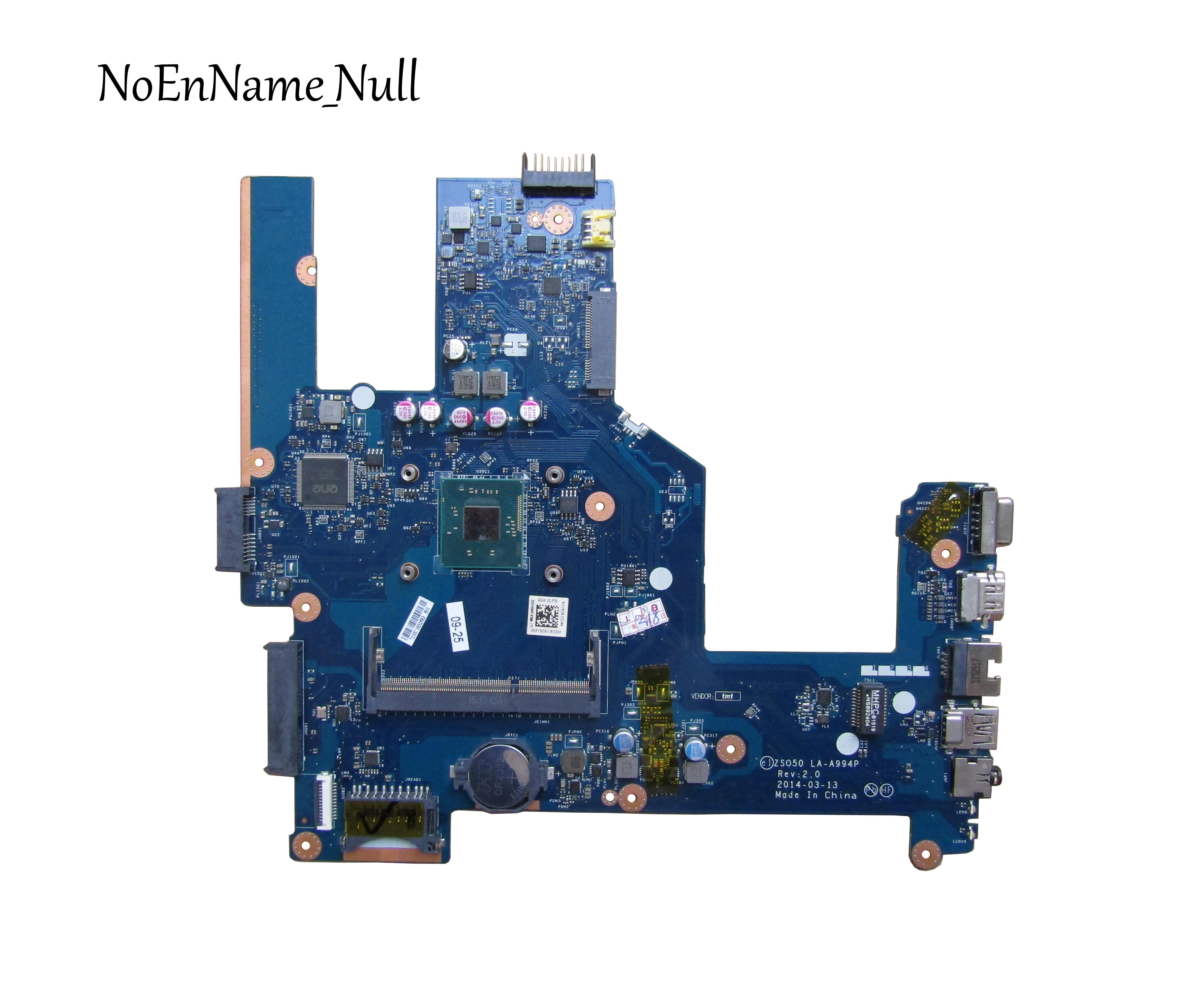 787809-001 787809-501 787809-601 Frete grátis para HP 15-R 250 G3 256 G3 series laptop motherboard CPU LA-A994P N3540