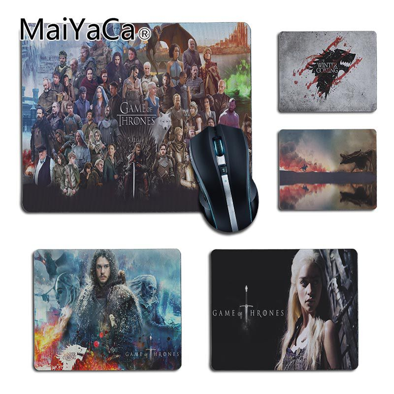 MaiYaCa antideslizante para PC Juego de tronos carácter portátil ordenador alfombrilla más vendidos al por mayor juego almohadilla ratón cojín de escritorio