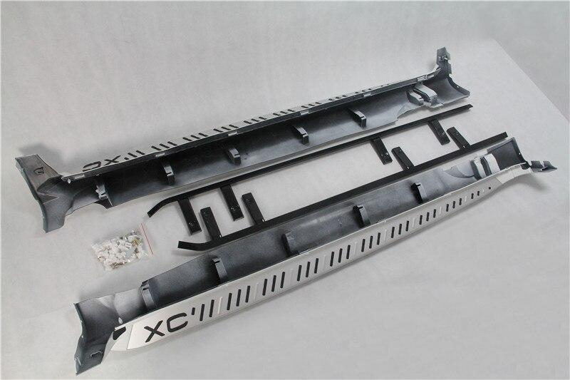 Diseño OEM, estribo de aluminio, escalón lateral, Nerf Bar adecuado para VOLVO XC60 2008-2012
