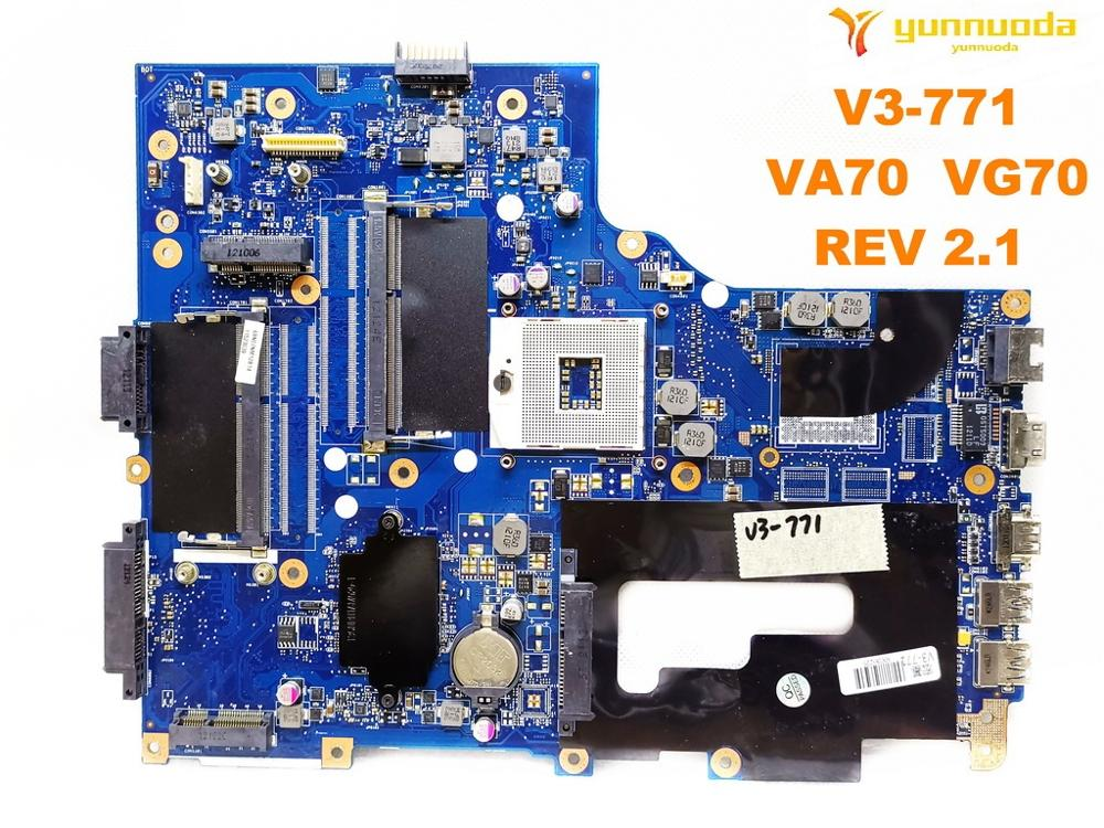 Placa base Original para ordenador portátil ACER V3-771G V3-771 VA70 VG70 REV 2,1 probado con buen envío gratis