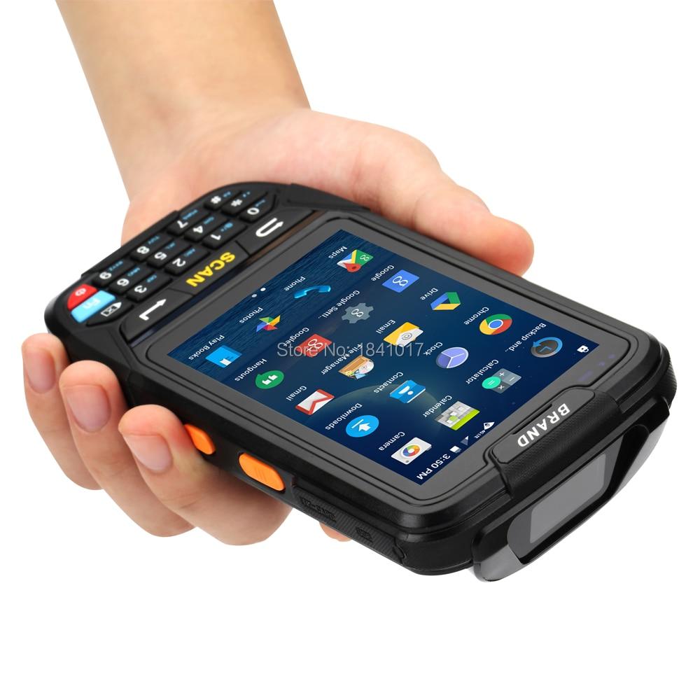Lector de RFID portátil Android GPRS 125 KHz, estacionamiento Industrial móvil impermeable al aire libre NFC wifi Cámara 4G 3G qr escáner de código