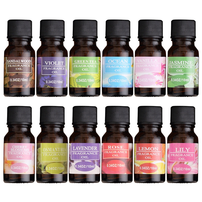 10ML Essential Oils For humidifier Diffuser Essential Oils fragrance aroma diffuser Lavender Lemon S