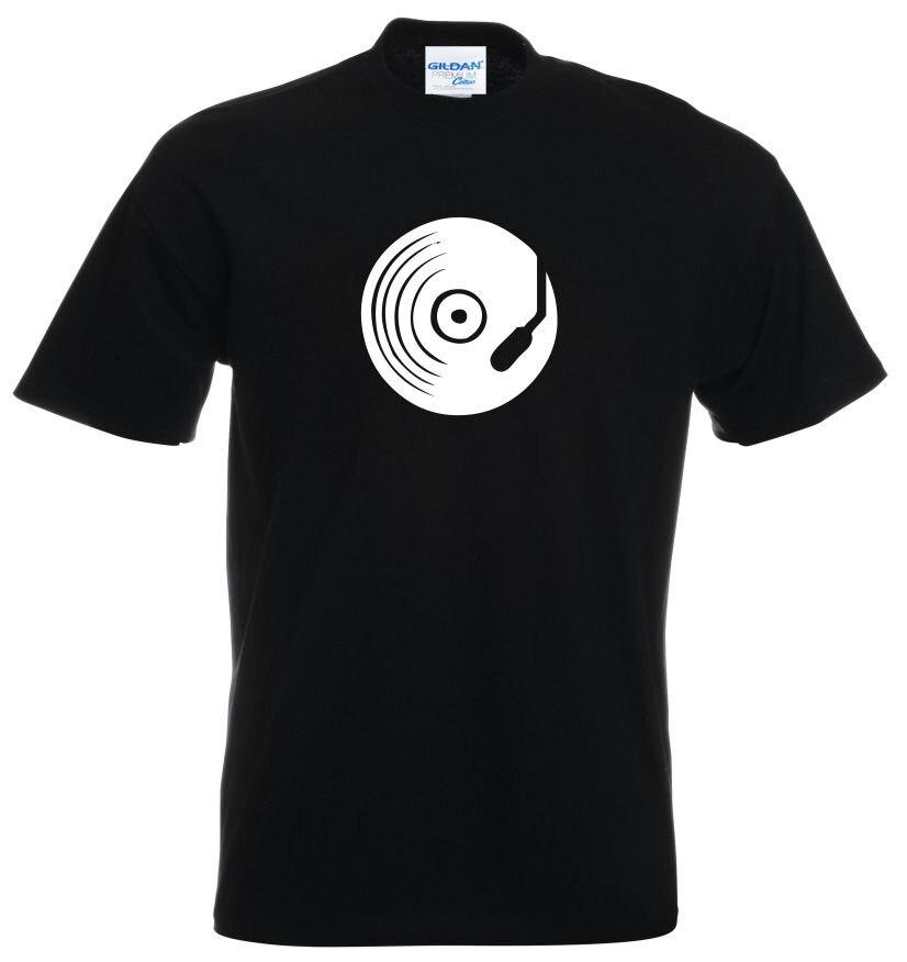 Lo más nuevo de 2019, camisetas de manga corta a la moda para hombre y mujer, música, DJ, disco de baile para hombre, Jockey, bajo, Camiseta de algodón