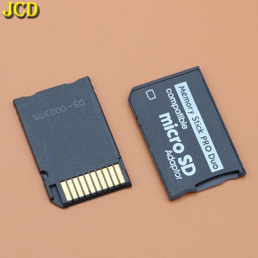 Adaptador de cartão de memória jcd, 1 peça, micro sd para memória para psp sopport class10 micro sd 2 gb 4 gb 8 gb 16 gb 32 gb