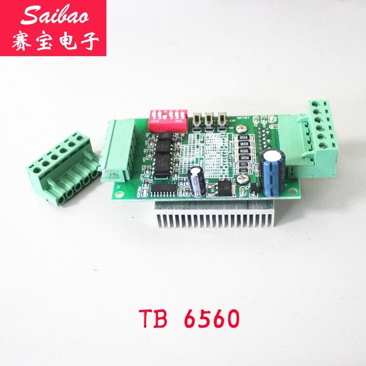 [LAN] enchufe la interfaz TB6560 3A placa de motor paso a paso controlador de un solo eje 10 (C6A2) 10 unids/lote