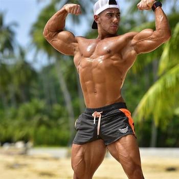 2019 Gym Shorts Men Quick Dry For Running Shorts Men Fitness Slim fit Sport Shorts Male Training Sports Short Pants Sport Man