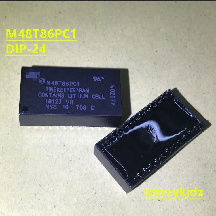 1 teile/los, M48T86PC1 M48T86PCI M48T86 DIP-24, Neue Oiginal Produkt Neue original schnelle lieferung