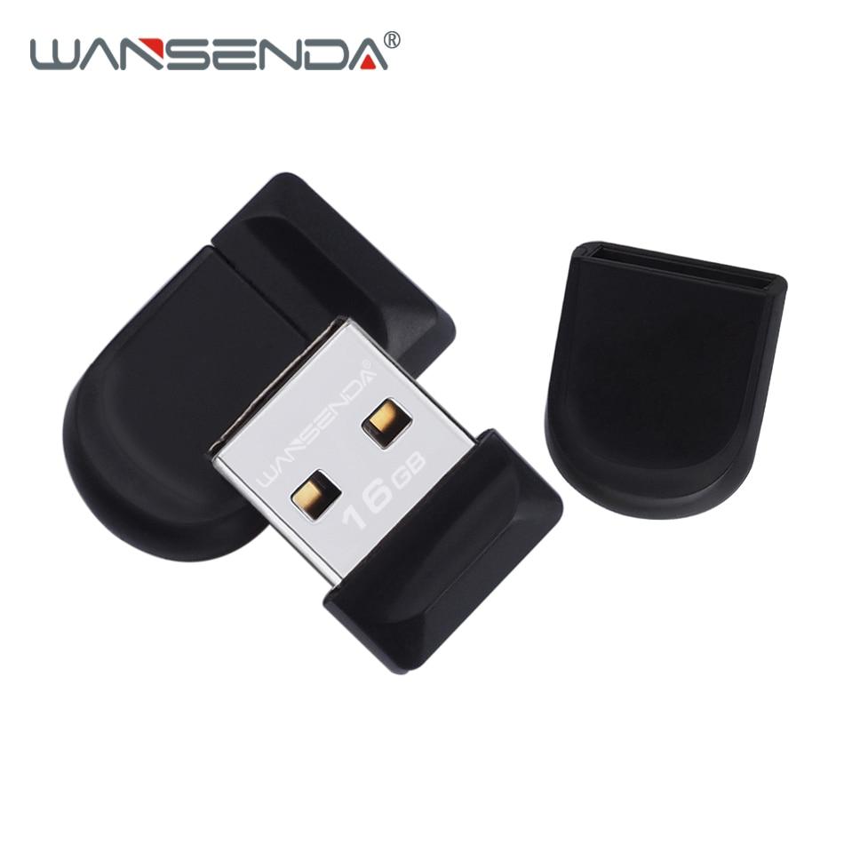 WANSENDA 5pcs/lot Super mini USB Flash Drive Waterproof Pen Drive 4GB 8GB 16GB 32GB 64GB Pendrive Real Capacity Usb Memory Stick