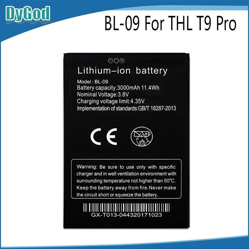 Batería de BL-09 para THL T9 Pro Bateria acumulador AKKU 3000mAh