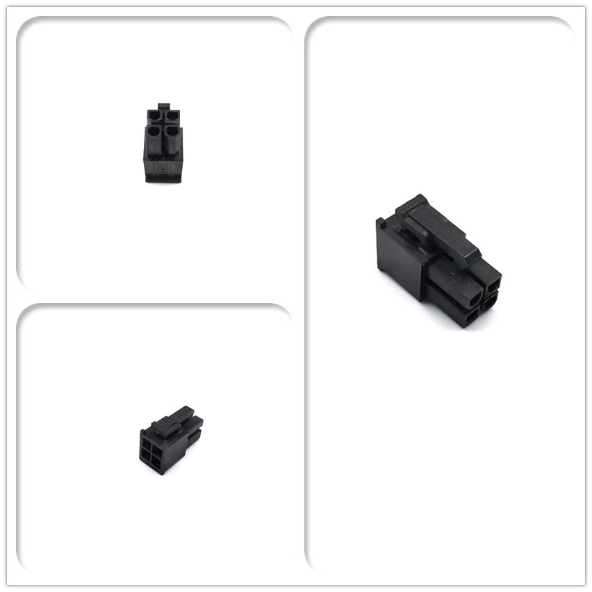 WinKool ЭПС ЦП ATX 4Pin разъем папа корпус Включает клеммы/шпильки 4,2 мм шаг 5557 Тип