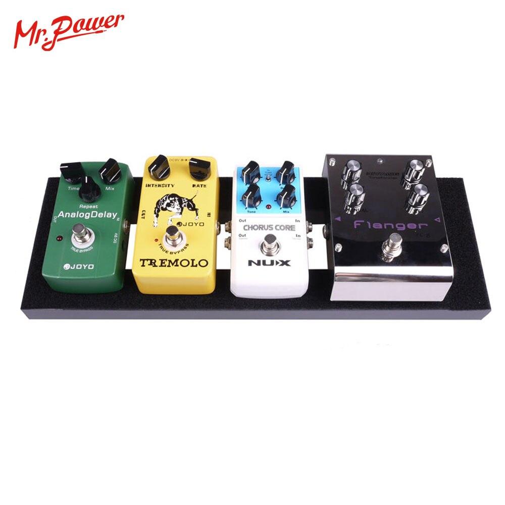 Guitar Effect Pedalboard Bag Case For 40X13 CM Guitar Pedal Board New 110 B enlarge