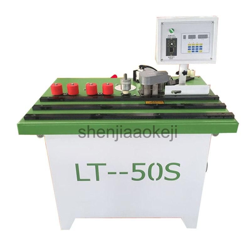 Maquinaria de carpintería Manual microordenador Panel muebles Hoousehold muebles gabinete Edgebander borde máquina 220 v