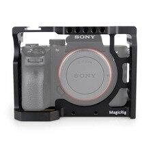 Cage de caméra MAGICRIG avec sabot froid Standard pour Sony A7RIII/A7RII/A7MII/A7SII/A7III/A7II Kit dextension à dégagement rapide