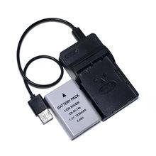 EN-EL14a EN-EL14 Batterie + Chargeur USB pour Nikon Df D3100 D3200 D3300 D3400 D5100 D5200 D5300 D5400 D5500 D5600 DSLR Caméra