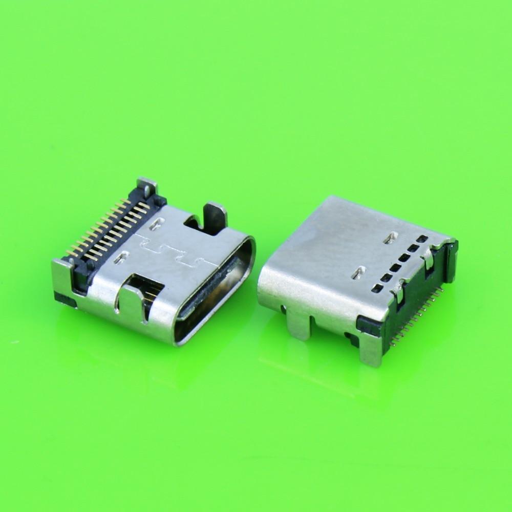 USB 3,1 Type-C разъем 24 Pin сосуд под прямым углом типа C PCB SMT двойной ряд Tab гнездо Поддержка терминала TH 3A