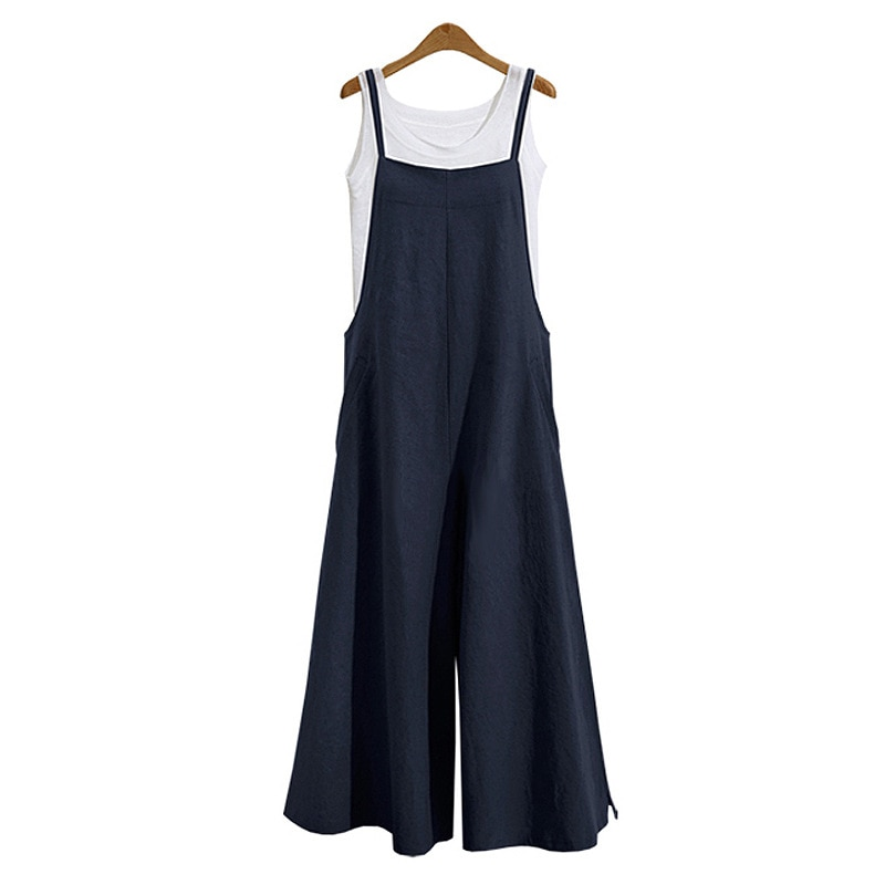 Harem Trousers Ladies Overall Pants Casual Playsuits Women Girls Loose Solid Jumpsuit Strap Dungaree jumpsuit bodysuit arrival women ladies baggy bib full length pinafore dungaree overall solid loose causal jumpsuit pants summer