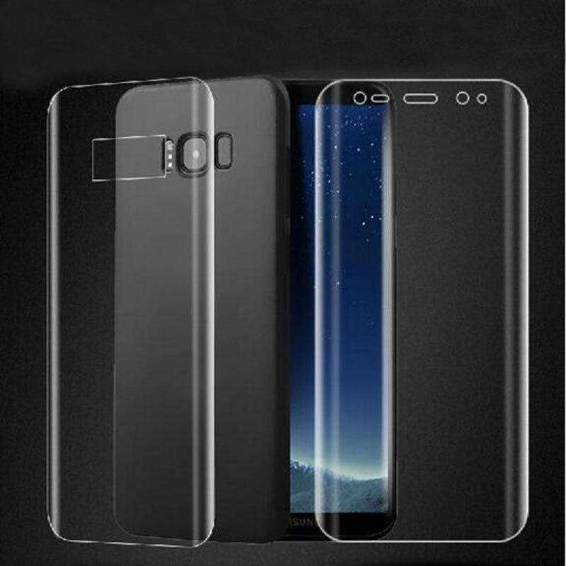 Protector de pantalla completa de TPU para Samsung Galaxy S8 S9 S10 Plus S10e Note 8 9 10 (sin cristal