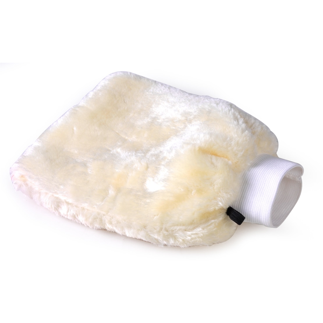 DWCX guante de lavado de doble lana suave para coche, cepillo de limpieza a mano, cepillo de polvo de piel de oveja, arandela de lana de cordero para BMW, Audi, Nissan, VW, Toyota